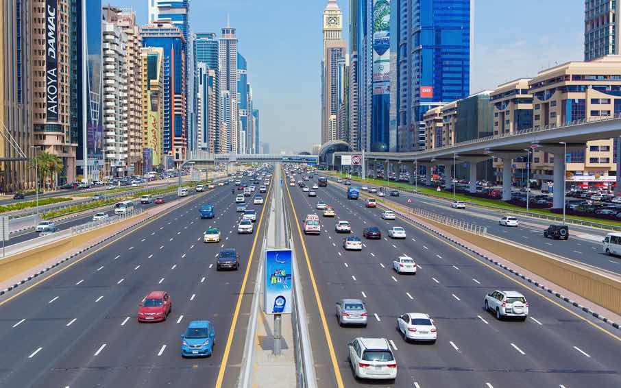 Traffic In Dubai Dubai Gps All About Gps Vehicle